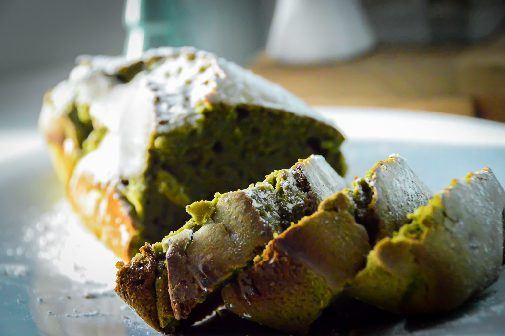 Dessert light & original #1: Le Matcha Cake sans beurre (option: sans lactose)